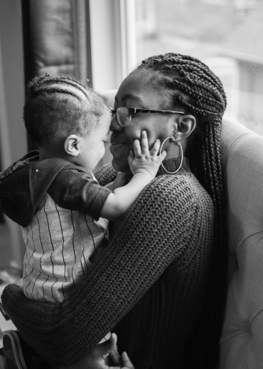 Mother and son at Hope House