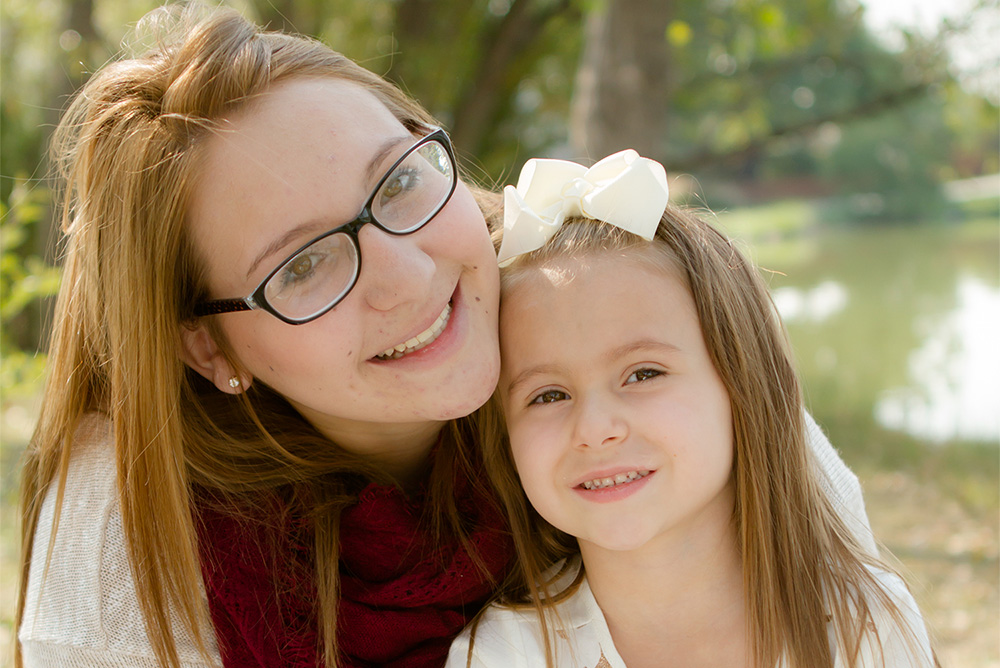 Teen Mother and Daughter at Hope House of Colorado